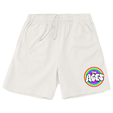 The Aces Candy Pride Shorts - Off White