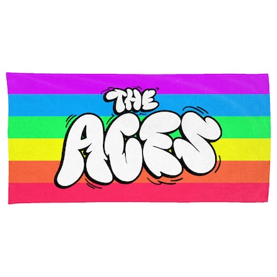 The Aces Candy Pride Beach Towel - White