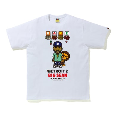 Big Sean Detroit 2 X BAPE BABY MILO TEE