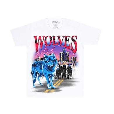 Big Sean Wolves White Tee