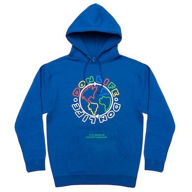 Big Sean Don Life 'The World Keeps Turning' Hoodie - Royal Blue