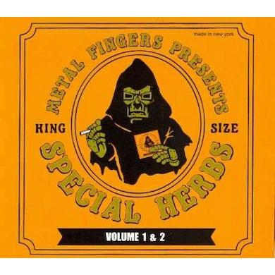 MF DOOM Special Herbs Vol. 1 & 2 CD