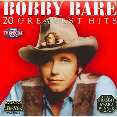 Bobby Bare 20 Greatest Hits CD