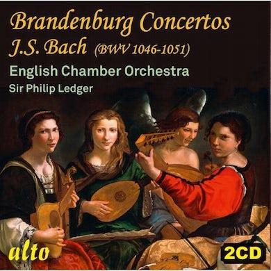English Chamber Orchestra Bach: Brandenburg Concertos BWV 1046-51 CD