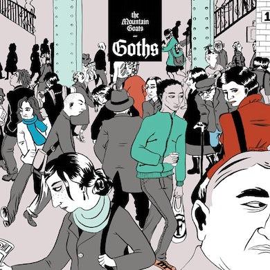 The Mountain Goats Goths CD