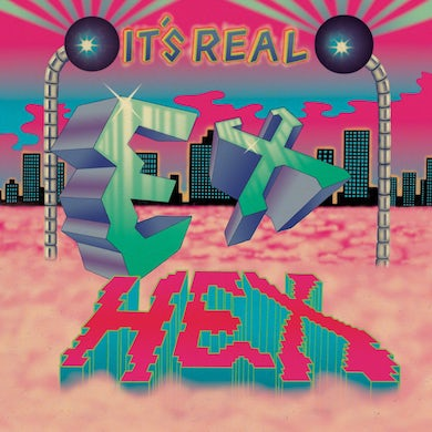 Ex Hex It's Real CD