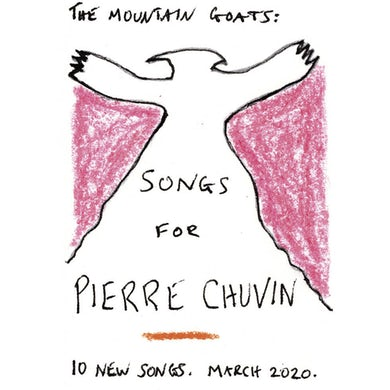 The Mountain Goats Songs For Pierre Chuvin CD