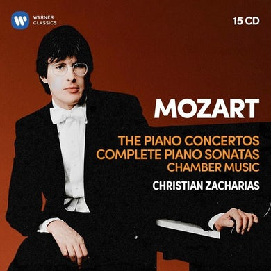 Christian Zacharias MOZART: PNO CONS 5-27 / 19 PNO SONS / PNO QRTS 1-2 CD