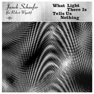 Janek Schaefer What Light There Is Tells Us Nothing CD