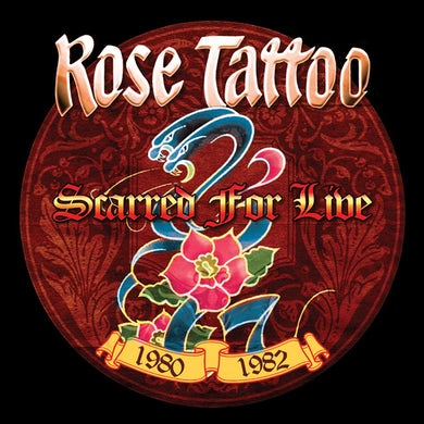 Rose Tattoo Scarred For: Live: 1980-1982 CD