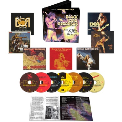 Black Oak Arkansas Jim Dandy To The Rescue (7 Disc Set) CD