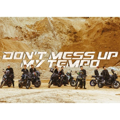 Exo The 5th Album 'Don't Mess Up My Tempo' (Moderato Vers) CD