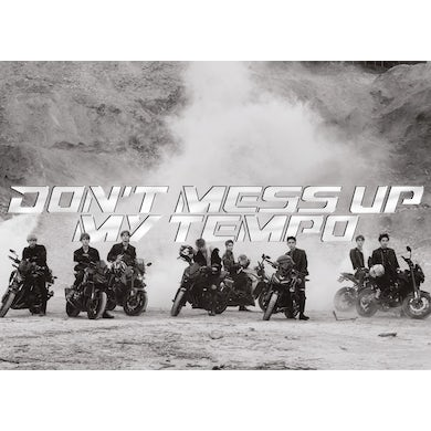 Exo The 5th Album 'Don't Mess Up My Tempo' (Andante Version) CD