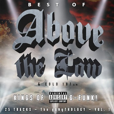 Best Of Above The Law & Cold 187: Gangthology: Vol. 1 CD