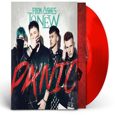 From Ashes to New Panic Vinyl Record