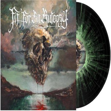 Sea of Tragic Beasts (Black w Green & White Splatter) Vinyl Record