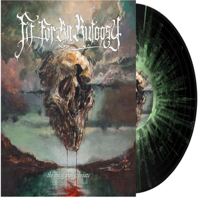 Fit For An Autopsy Sea of Tragic Beasts (Black w Green & White Splatter) Vinyl Record