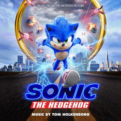 Junkie XL SONIC THE HEDGEHOG: MUSIC FROM THE MOTION PICTURE (BLUE VINYL) Vinyl Record