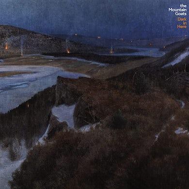 The Mountain Goats Dark In Here (Iex) (Blue Vinyl) Vinyl Record