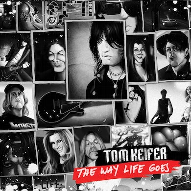 Tom Keifer WAY LIFE GOES (DELUXE EDITION) (COLORED VINYL) Vinyl Record