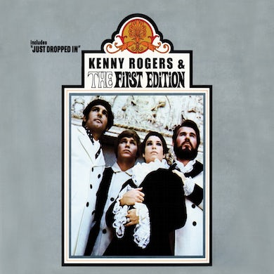 Kenny Rogers First Edition Vinyl Record