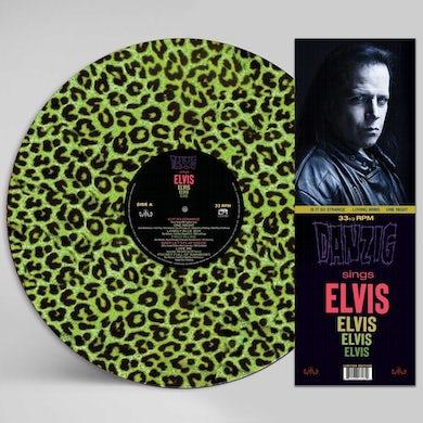 Sings Elvis   A Gorgeous Green Leopard P Vinyl Record