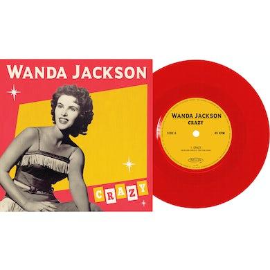 Wanda Jackson Crazy Vinyl Record