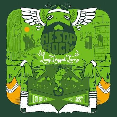 Long Legged Larry (Green 7 ) Vinyl Record