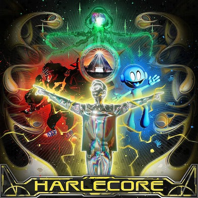 Danny L Harle Harlecore (Yellow With Black Splatter Vi Vinyl Record
