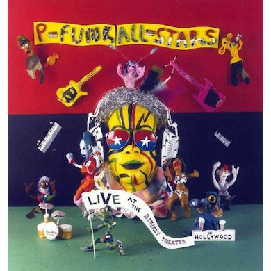 George Clinton  P-Funk All-Stars: Live at The Beverly Theater CD