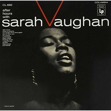 After Hours with Sarah Vaughan Vinyl Record