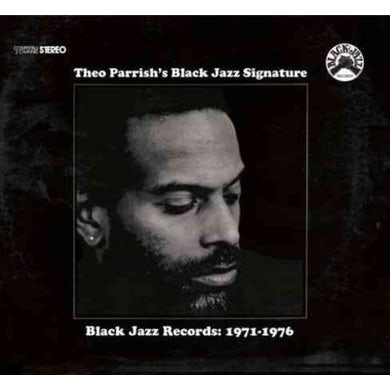 Theo Parrish Black Jazz Signature Vinyl Record