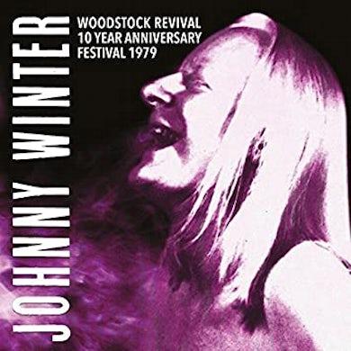 Johnny Winter Woodstock Revival 10 Year Anniversary Festival 1979 Vinyl Record