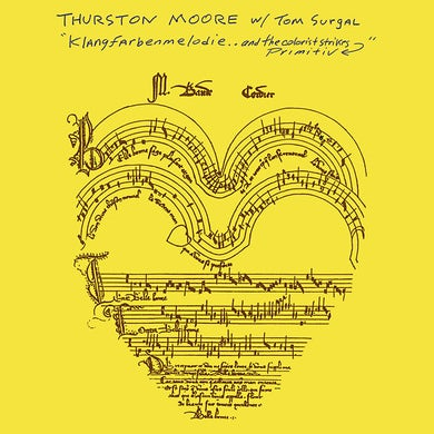Thurston Moore Klangfarbenmelodie..And The Colorist Strikes Primitiv Vinyl Record