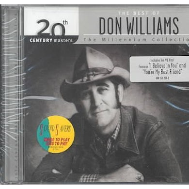 Don Williams Millennium Collection - 20th Century Masters CD