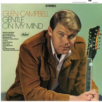 Glen Campbell Gentle On My Mind Vinyl Record