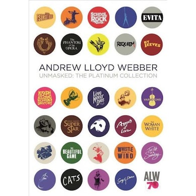Andrew Lloyd Webber Unmasked: The Platinum Collection (2 CD) CD