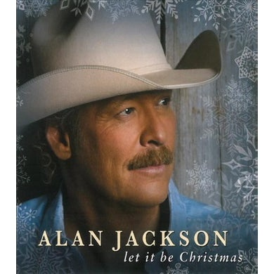 Alan Jackson Let It Be Christmas CD