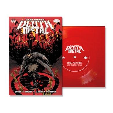 "Rise Against Broken Dreams, Inc. (DC - Dark Nights: Death Metal Version) [Red 7"" Single] Vinyl Record"