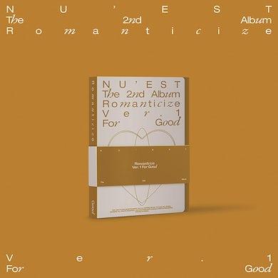 NU'EST The 2nd Album 'Romanticize' (FOR GOOD Version) CD