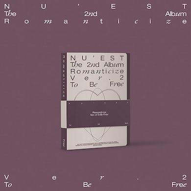 NU'EST The 2nd Album 'Romanticize' (TO BE FREE Version) CD