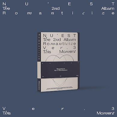 NU'EST The 2nd Album 'Romanticize' (THIS MOMENT Version) CD