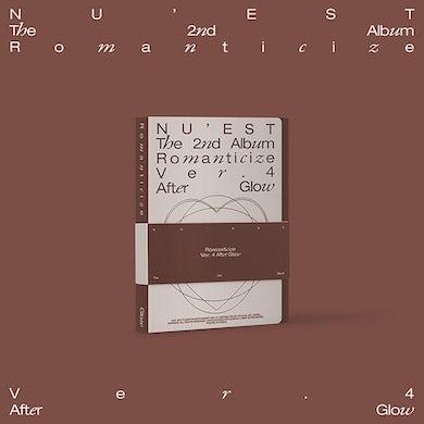 NU'EST The 2nd Album 'Romanticize' (AFTER GLOW Version) CD