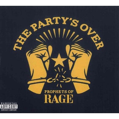 Prophets Of Rage The Party's Over CD