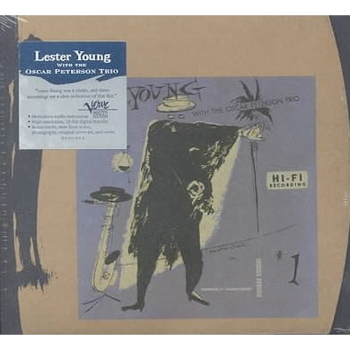 Lester Young With The Oscar Peterson Trio (VME - Remastered) CD