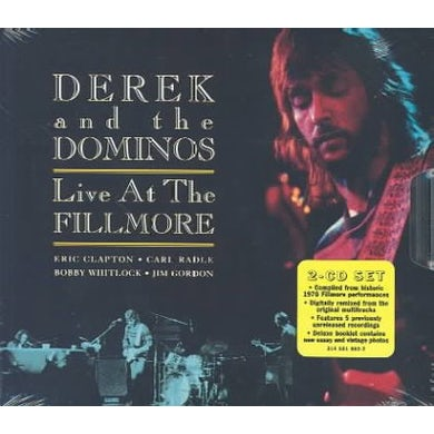 Derek & the Dominos Live At The Fillmore (2 CD Expanded Edition) CD