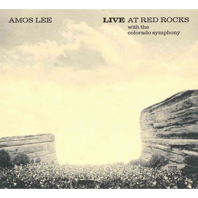 Amos Lee Live At Red Rocks With The Colorado Symphony CD