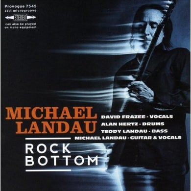 Michael Landau Rock Bottom CD