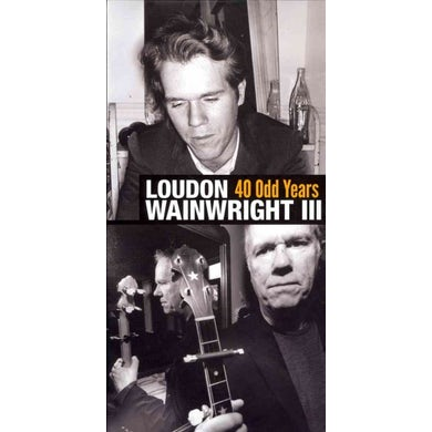 Loudon Iii Wainwright 40 Odd Years (5 CD) CD