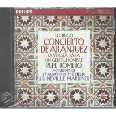 Joaquin Rodrigo Concierto De Aranjuez CD